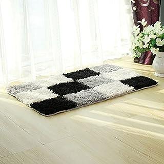 a6a7cd59 KOOCO 1 pc Home Sala de Estar Simple Estilo Alfombra Pelo Largo, tamaño  Grande Dormitorio