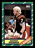 Boomer Esiason Rookie Card 1986 Topps #255. rookie card picture