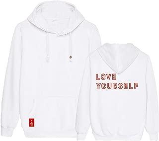Kpop BTS World Tour Hoodie Jimin Suga Jung Kook V Jacket Pullover Sweater