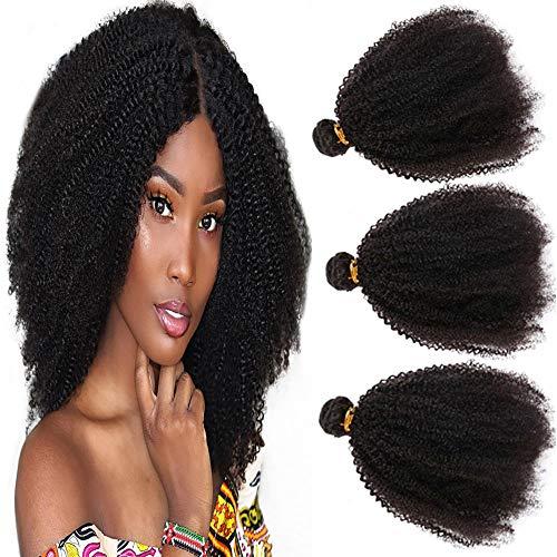 NEWFB 10 Pouces Bresilien Vierge Top Lace Closure Kinky Curly Humains Hair 4*4 Free Part Lace Closure avec Bebe Cheveux