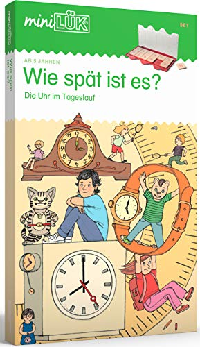 miniLÜK-Sets: miniLÜK-Set: Vorschule/1. Klasse: Wie spät ist es? (miniLÜK-Sets: Kasten + Übungsheft/e)