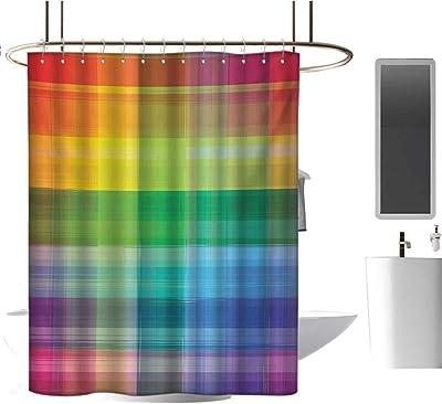 Amazon.com: Homehot - Cortinas de ducha curvadas con arco ...