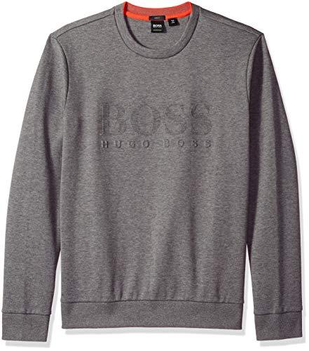 Hugo Boss Mens Kamiscos Trim Fit Crew Neck Sweater