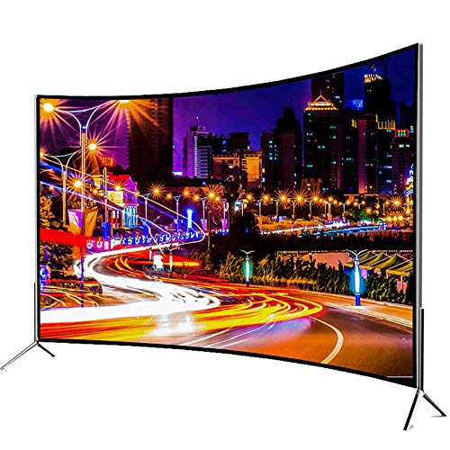 LHONG Smart TV LED Ultra HD, proyección inalámbrica, Calidad de Imagen estéreo, VGA, USB, AV, DVI, HDMI, RF