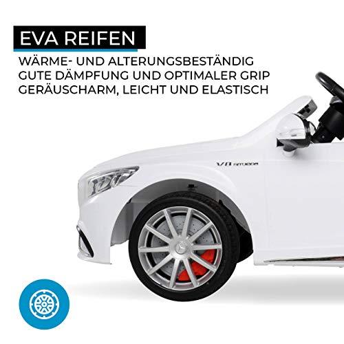 E-Auto für Kinder  Mercedes Amg S63 Lizenziert Bild 5*