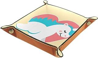 Desheze Licorne Mignonne (28) Boîte de Rangement Pliable Stockage Boîte Maquillage Bijoux Jouets Papeterie Organisateur Pe...