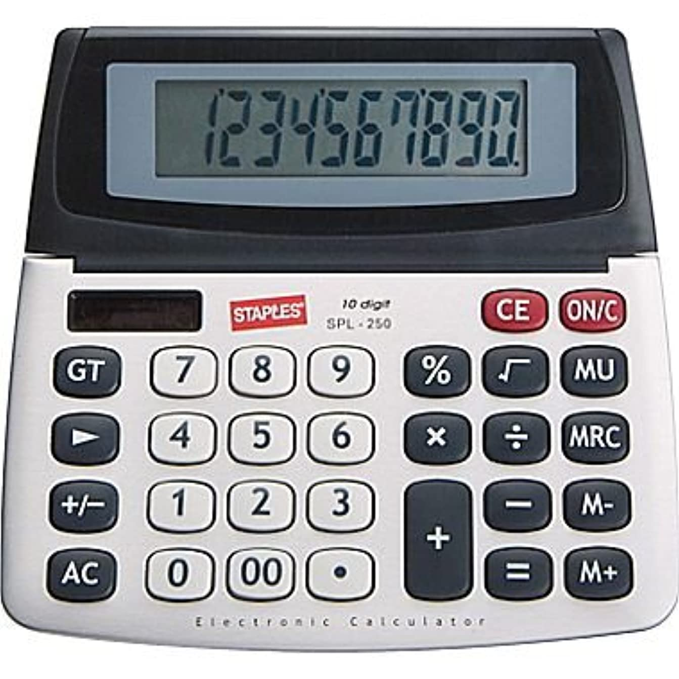 スタジアム収まる製作Staples spl-250?10桁表示電卓