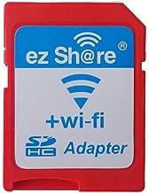 ez Share - Tarjeta SD adaptadora para tarjetas de memoria microSD de cámaras digitales, videocámaras, cámaras réflex, marcos de fotos digitales, etc. (con Wi-Fi)