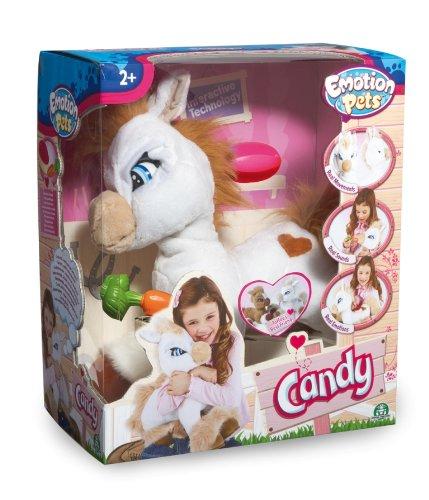 Giochi Preziosi 70605701 - Emotion Pets Candy, Funktions-Plüschpony