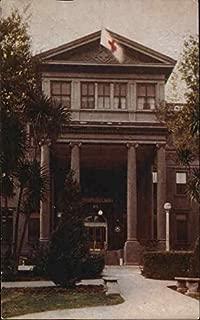Administration Building at Mare Island Naval Hospital Mare Island, California Original Vintage Postcard