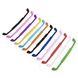 BLUECELL 12 Color Silicone Anti-Slip Glasses Eyeglass Strap Sports Glasses Strap Holder for Children