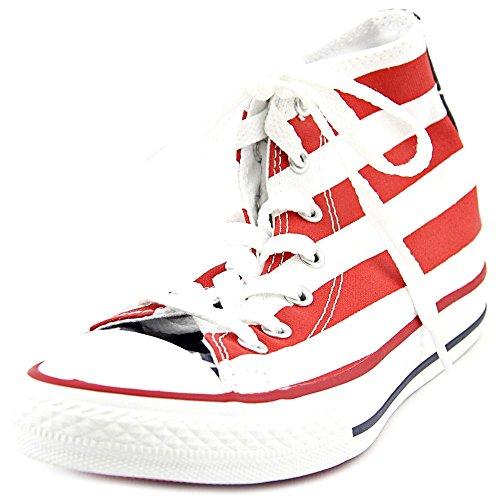 Converse Chuck Taylor All Star 020820-31-3, Unisex - Kinder Sneakers, Weiß (Blanc/Bleu/Rouge), EU 27