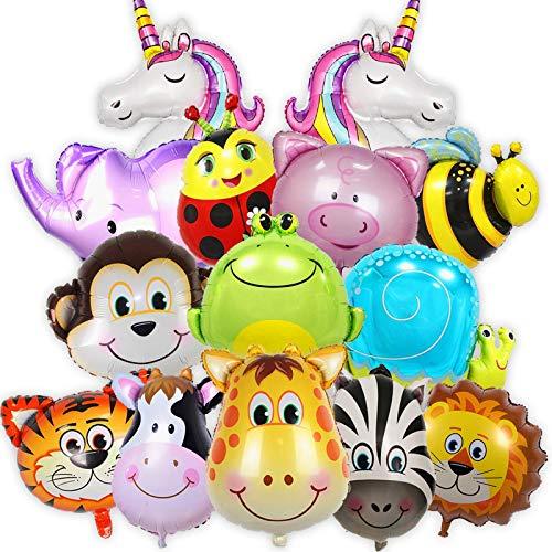 Balloono Balloono 14x Folienballons mit Tieren Bild