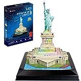 CubicFun Puzzle 3D Estatua de la Libertad LED (771L505)