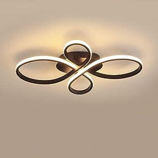 Moderne LED Lampe De Salon Plafonnier Fleur Désign Plafond Lustre Éclairage Intérieur Métal Acrylique Lampe De Plafond pou...