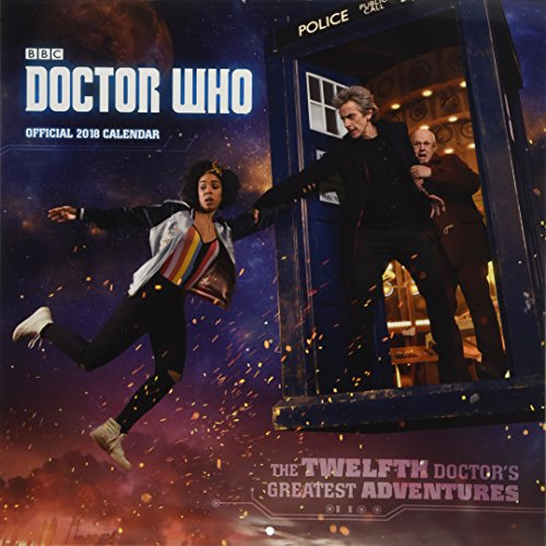Doctor Who - Official 2018 Calendar (Square Wall Format)