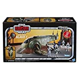 Star Wars The Vintage Collection Star Wars, The Empire Strikes Back Boba Fett's Slave I Toy Vehicle, Toys for Kids Ages 4 and Up