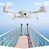 TwoCC Drone Télécommande Avion De Voiture Jouet, Xt-1 Plus Wifi 720P Smart Suivre Quadrocopter Pliable De Positionnement Optique (A)