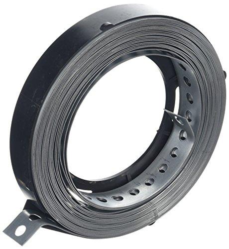 DON QUICHOTTE Lochband 25 mm verzinkt 10 Meter auf einer Rolle in Plastikbox, 1 Stück,900935