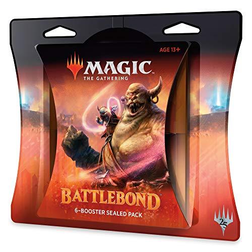 Magic: The Gathering Battlebond Battle Pack | 6 Battlebond Booster Packs (90 Cards)