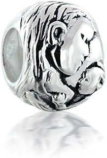 Mother Loving Child Family Love Charm Bead For Women Oxidized 925 Sterling Silver Fits European Bracelet