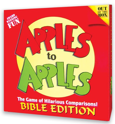 APPLES TO APPLES-GAME-BIBLE/E