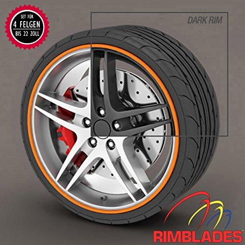 WHITE Trims4Rims by Rimblades-Alloy Wheel Rim Protectors//Trims//Guards
