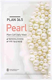 Plan 36.5 Plant Cell Daily Mask Sheet Pack of 1 (23 ml) (Pearl)