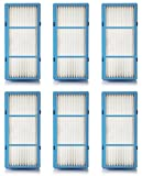 Nispira Replacement HEPA Filter Compatible with Holmes AER1 Series Total Air Filter, HAPF30AT For Purifier HAP242-NUC, 6 Filters