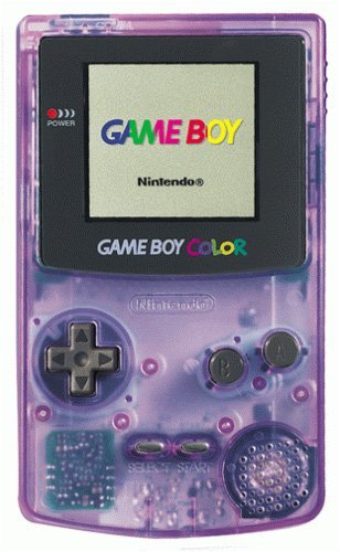 Game Boy Color - Atomic Purple [video game]