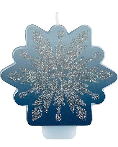 Amscan Frozen 2 Glitter and Decal Birthday Candle
