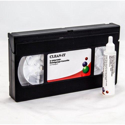 XTC R della VHS cassetta di pulizia S-VHS/videoregistratore VHS per