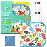 Portatile da Disegno per Bambini, Doodle Disegno Giocattoli per Bambini con 12 Colorati Pe...