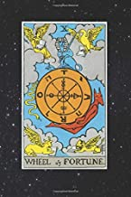 wheel of Fortune: Journal 6 x 9 inches 120 Lined Pages, Mystic Wheel of Fortune Tarot Card on Cover