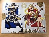 すき家 ソードアートオンライン コラボ クリアファイル キリト アスナ 2枚セット