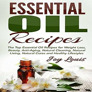Essential Oil Recipes audiobook cover art