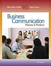 Business Communication: Process and Product (Book Only)