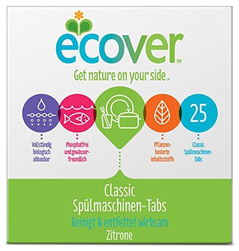 Ecover Spülmaschinen Tabs, 25 Stück