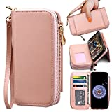 ELV Wallet Case for Samsung Galaxy S9 [PU Leather] Detachable...