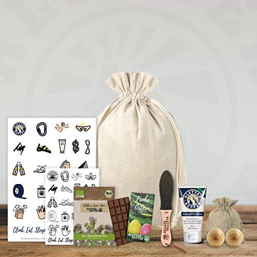 KletterRetter Ostergeschenk Paket - limitiere Auflage - das perfekte Ostergeschenk für Kletterer