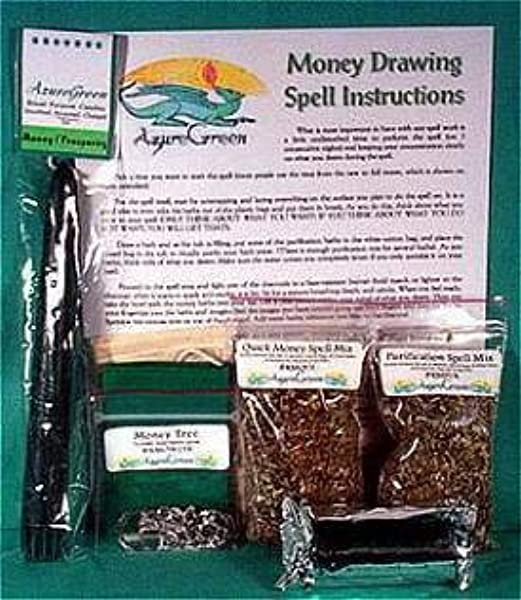 Money Drawing Ritual Kit