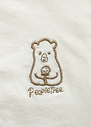PeopleTree(ピープルツリー)OCベビーコンビ肌着生成り60