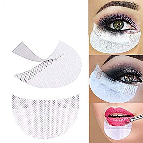 YiKiMira, adesivi protettivi usa e getta per il trucco, accessorio cosmetico adatto al trucco degli occhi con ombretti, confezione da 100 pezzi