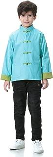 Bitablue Unisex Chinese Reversible Cotton Jacket for Kids