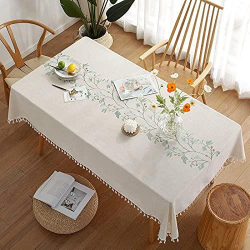 MRBJC Mantel rectangular para mesa de poliéster, mantel para picnic, fiestas, cenas, bodas, exteriores, 110 x 170 cm