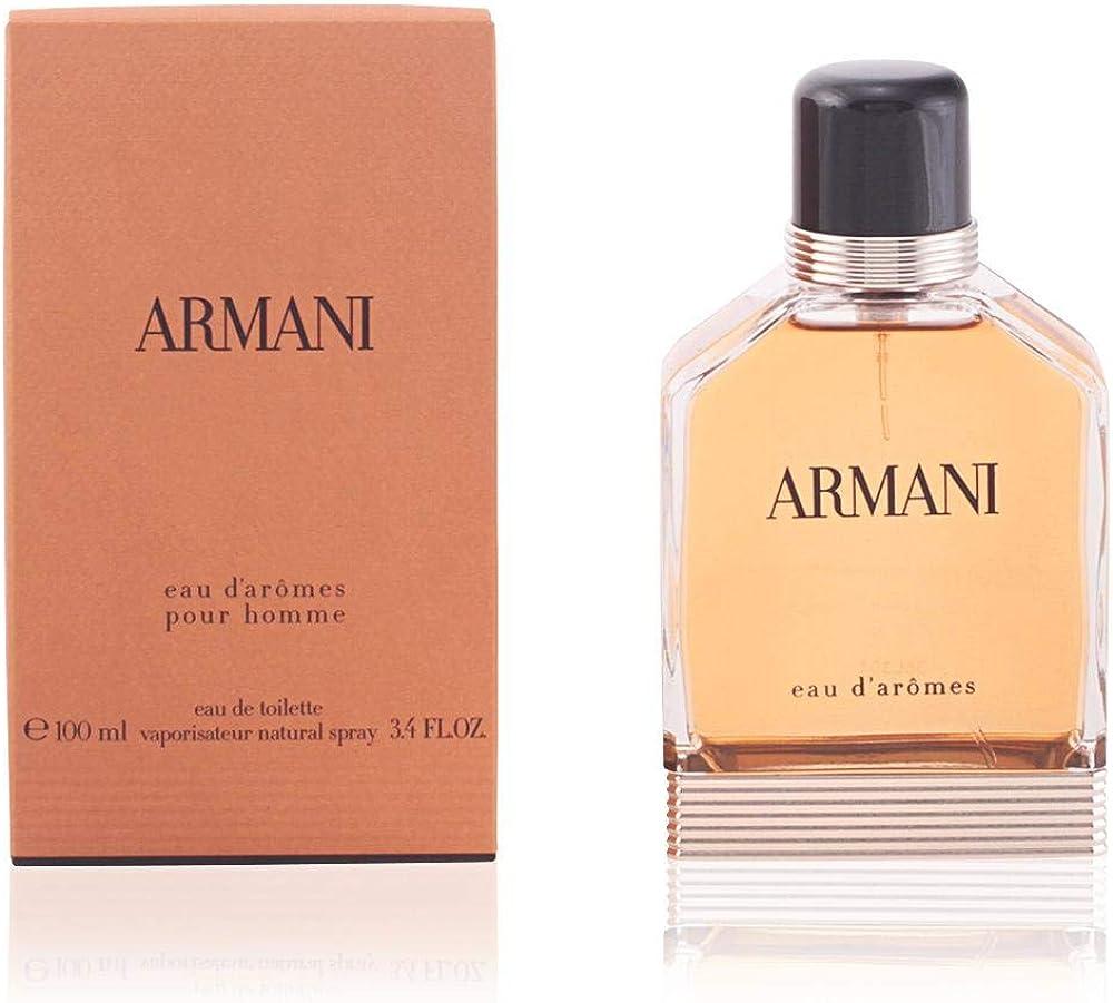 Giorgio armani eau d`arômes, eau de toilette per uomo, 100 ml 3605521965943
