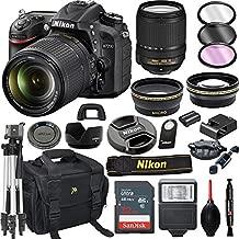 Nikon D7200 DSLR Camera with 18-140mm VR Lens + 32GB Card, Tripod, Flash, and More (20pc Bundle)