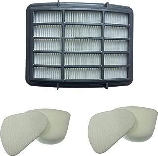 2 Pack Kit for Shark Navigator Lift-Away Nv350 Nv351, Nv352, Nv355, Nv356, NV356E, Nv357 Pre-Filter Foam and Felt + 1 Hepa Filter for Shark Part Vacuum Cleaner Parts