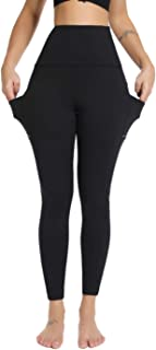 Olacia High Waisted Leggings with Pockets for Women Yoga Pants Workout Leggings No See-Through