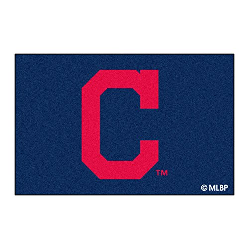 FANMATS 7442 Cleveland Indians Rookie Mat (18'x27'), 1 Pack